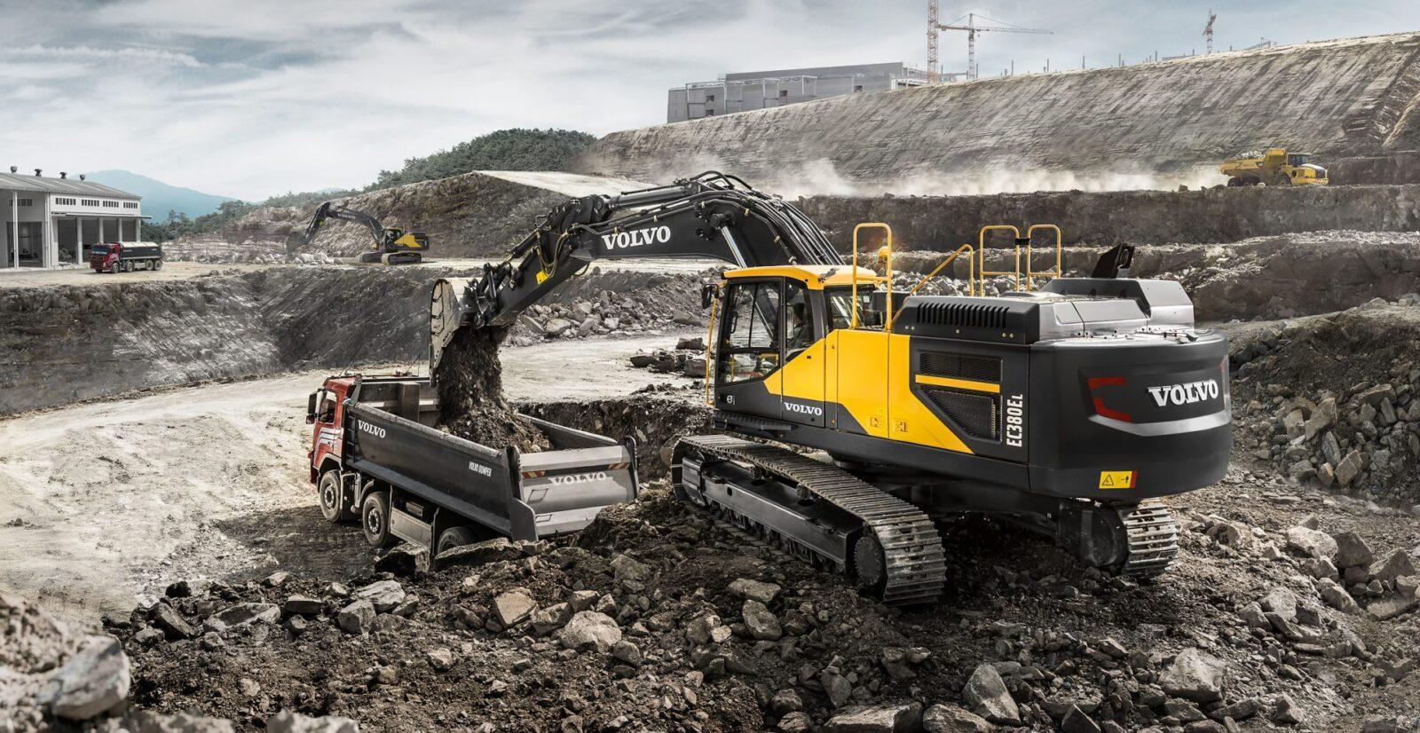 Maszyny budowlane Volvo